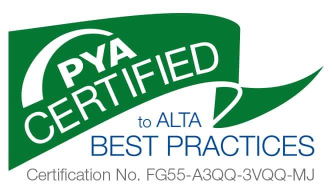 PYA Certified